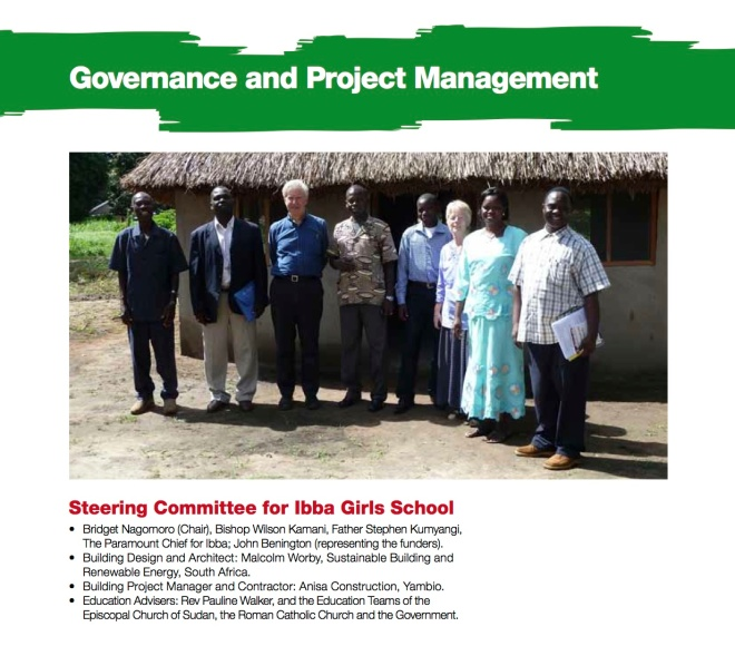Governance and Local Steering Group