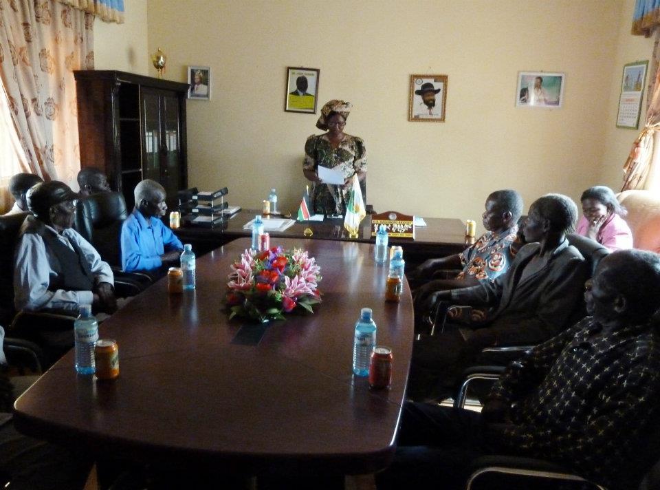 Affadavits signing for land for Ibba Girls School