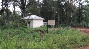 Back of Ibba Girls School Gatehouse 2012