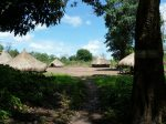 Chief Severio's Compound in Ibba Village, South Sudan