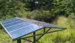 Solar Panels for Bore Hole